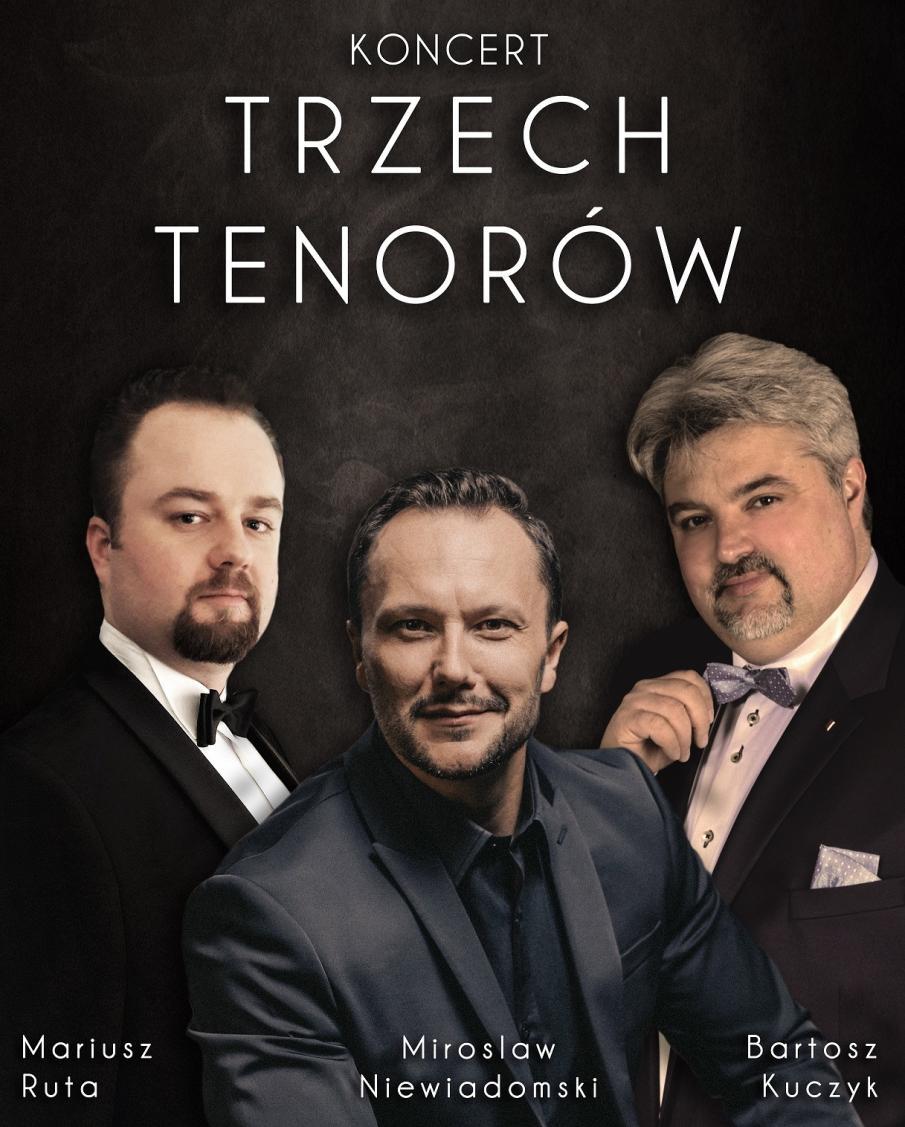 Koncert Trzech Tenorów